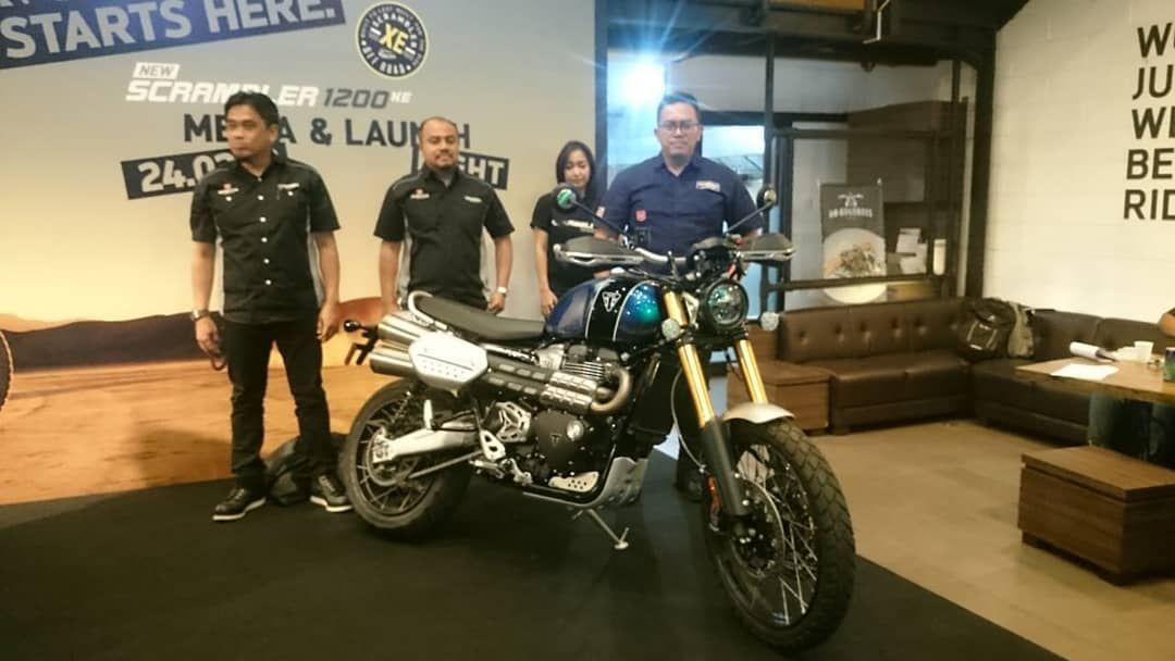 Triumph Scrambler 1200 Xe Resmi Diperkenalkan Pt Gas Triumph Moto