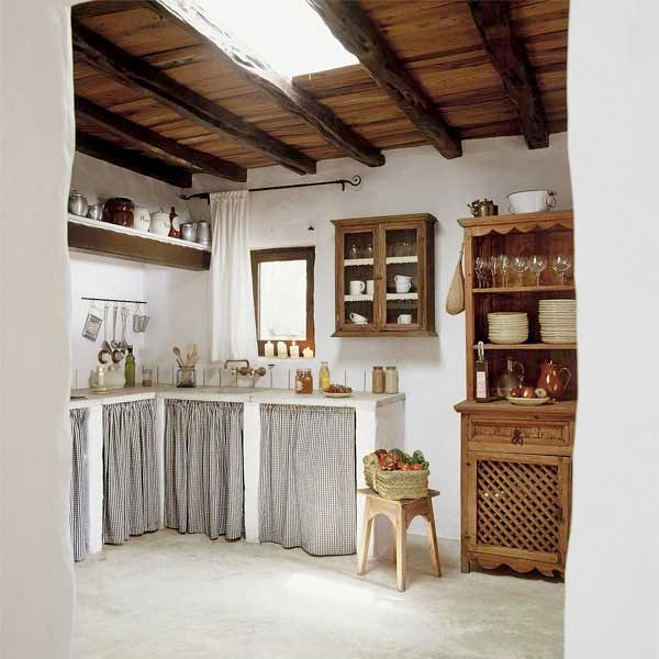 Las cocinas de estilo rústico | Cocinas de estilo rústico, Rusticas ...