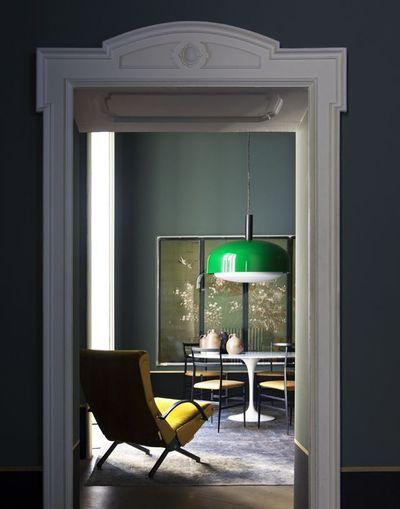 Décoration intérieur peinture  marier les couleurs Les verts