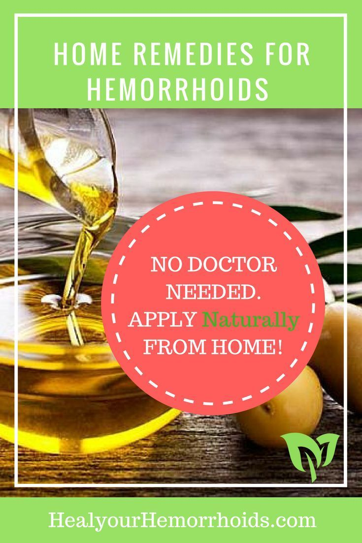 Best home remedies for treating hemorrhoids naturally