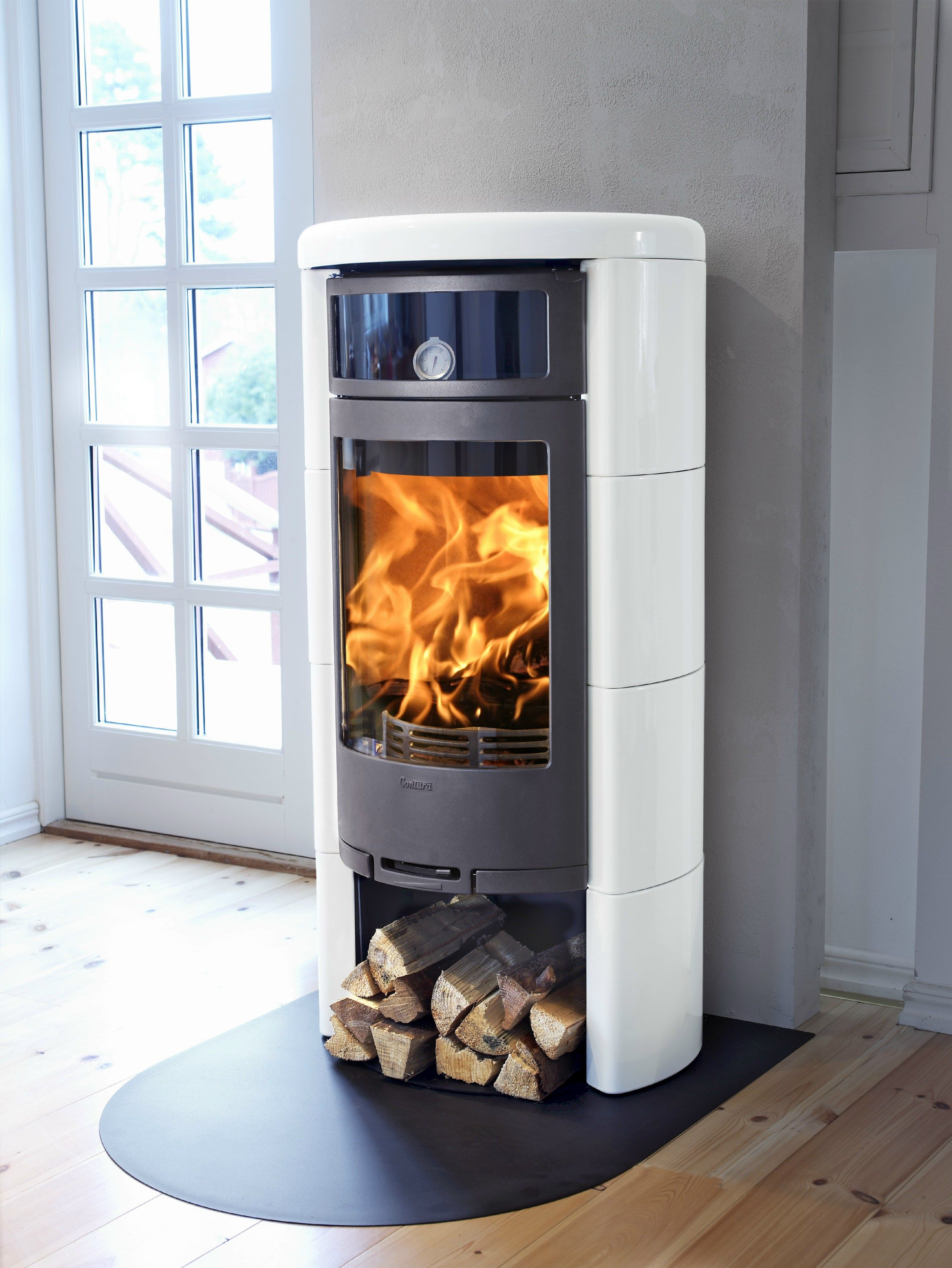 Contura Woodburning Stove with oven