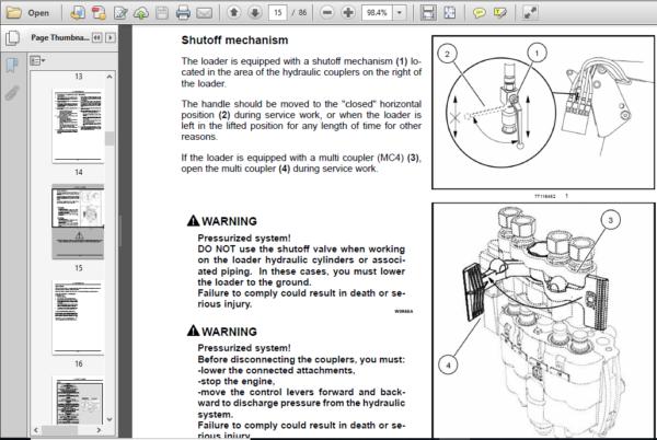 Case Ih Tractor L725 735 745 755 765 775 785 795 Farm Loader Operator S Manual Pdf Download Heydownloads Manual Downloa Case Ih Tractors Case Ih Tractors