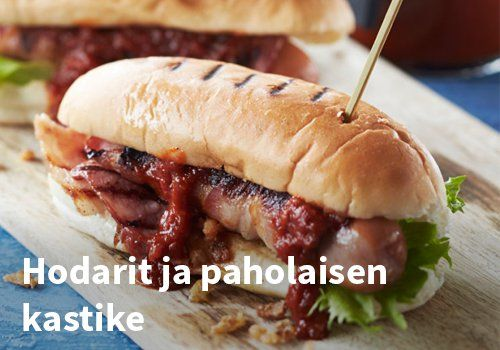 Hodarit ja paholaisen kastike Resepti: Hookoo #kauppahalli24 #ruoka #resepti #hodarit