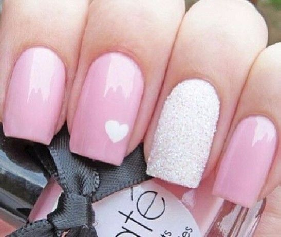 25 Lovely Pink Nail Art Designs