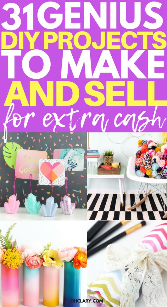 Hot Craft Ideas To Sell 30 Crafts To Make And Sell From Home Things To Sell Crafts To Make Sell Crafts To Sell