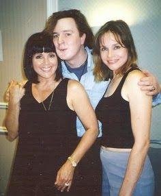 Chris Mann Joyce Dewitt And Priscilla Barnes From Three S