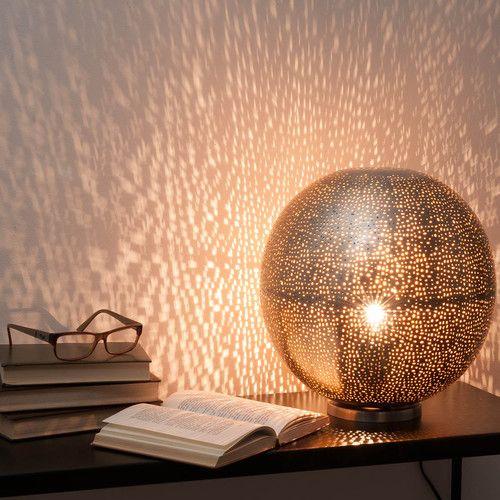 Lampe Boule Ajourée En Métal H 31 Cm Rabat | Duperré : Meuble Tv
