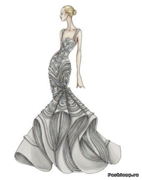 Эскизы платьев версаче удаленная работа для девушек