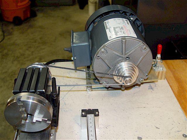 Taig Micro Lathe Motor Mount Jackshaft Pulley Cnc