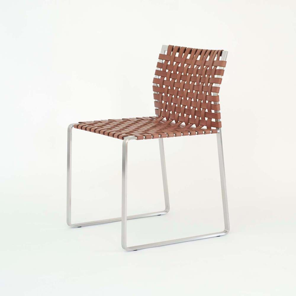 Shop SUITE NY For The Woven Side Chair Collection Designed By Mark Albrecht  And More Leather · Dining Room ...