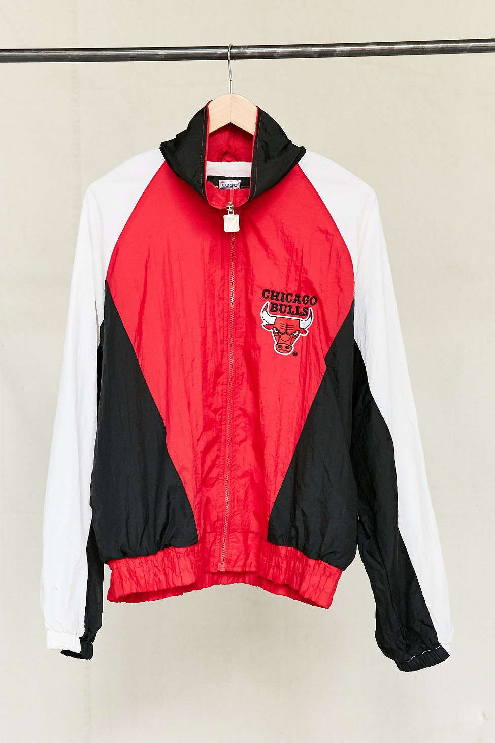 Vintage Chicago Bulls Windbreaker Jacket   O U T E R W E A R ...