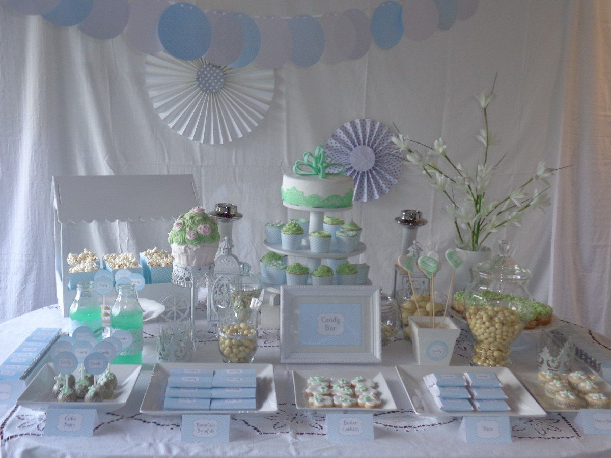 ambientacin candy bar mesa dulce bautismo 15 aos 1 aito  Party Ideas