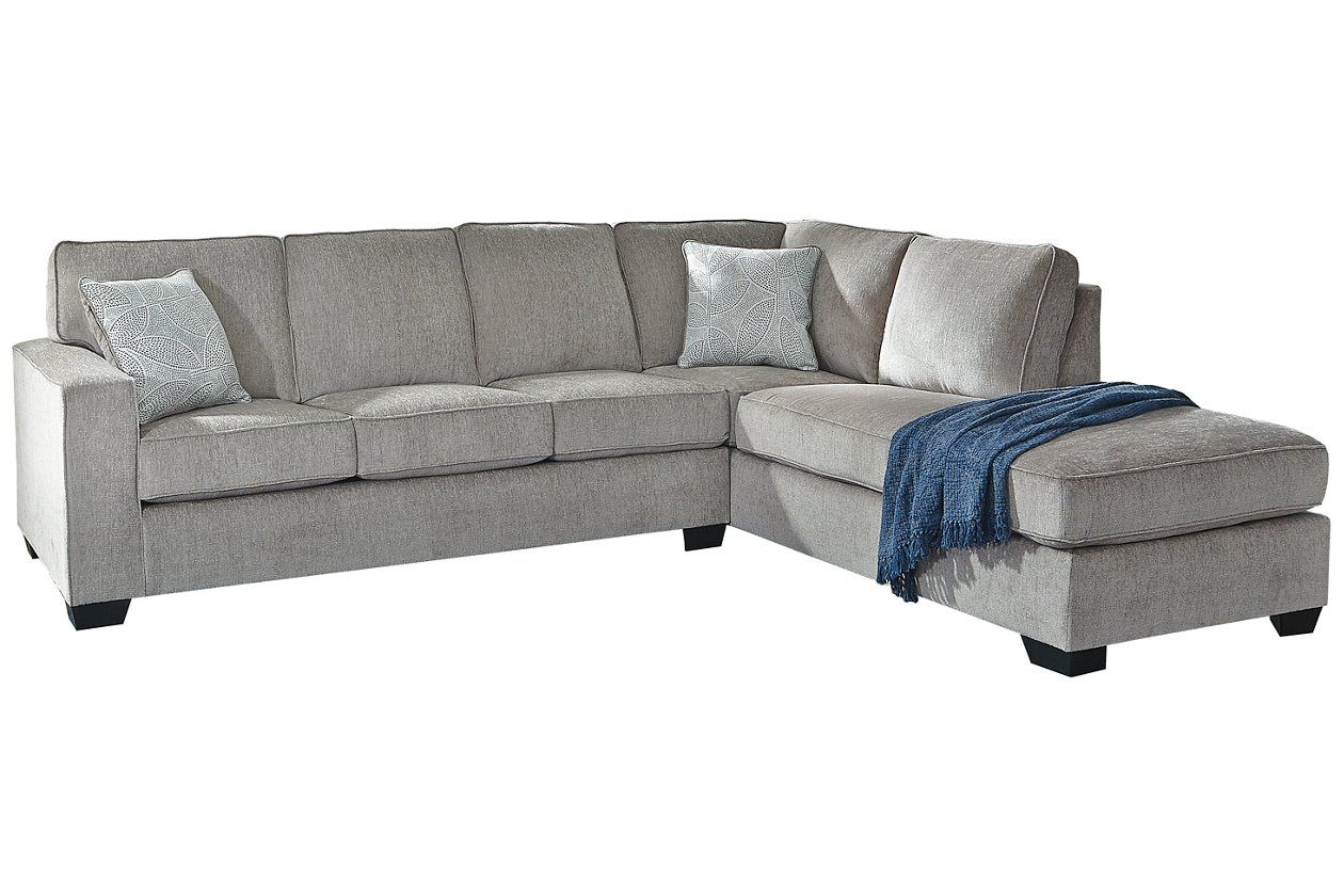 Altari 2 Piece Sleeper Sectional With Chaise Furniture