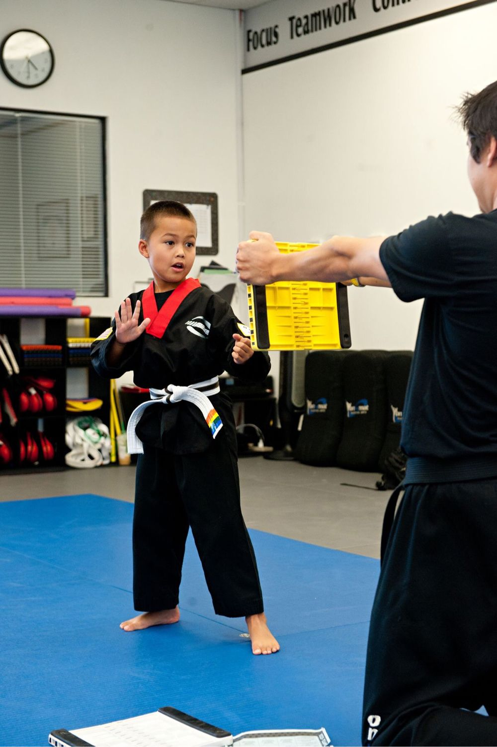 Focus - this skill helps students improve their attention while also developing listening skills, hand-eye coordination, and more! Lithia, Florida - Kids Martial Arts Classes