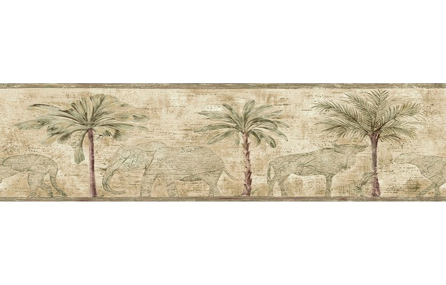 Green Wallpaper Borders For Bathrooms Palm Trees Http Lanewstalk Com Wallpaper Borders For Bathroom