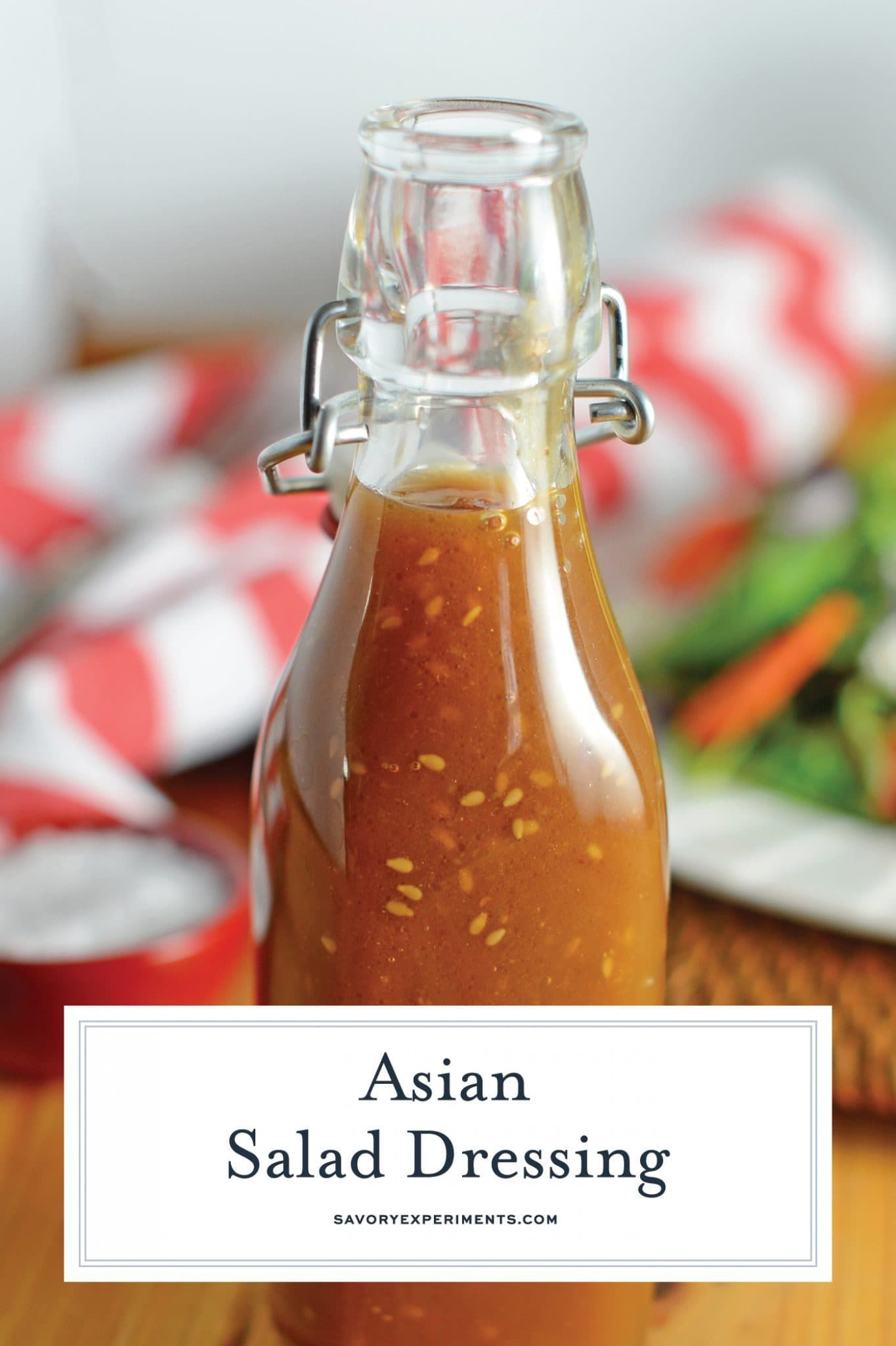 Ginger Asian Salad Dressing- A Japanese Steakhouse Favorite -  This Asian Salad Dressing is a great copycat recipe for what you get at Japanese steakhouses like B - #asian #dressing #favorite #ginger #japanese #salad #saladdressinghealthy #saladdressinghomemade #saladdressingrecipes #saladdressingrecipesbalsamic #saladdressingrecipeseasy #saladdressingrecipeshealthy #saladdressingrecipeshomemade #saladdressingrecipesvinaigrette #steakhouse
