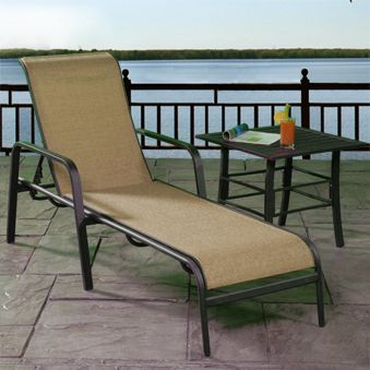 Attractive Palermo Sling Chaise Lounge 003865