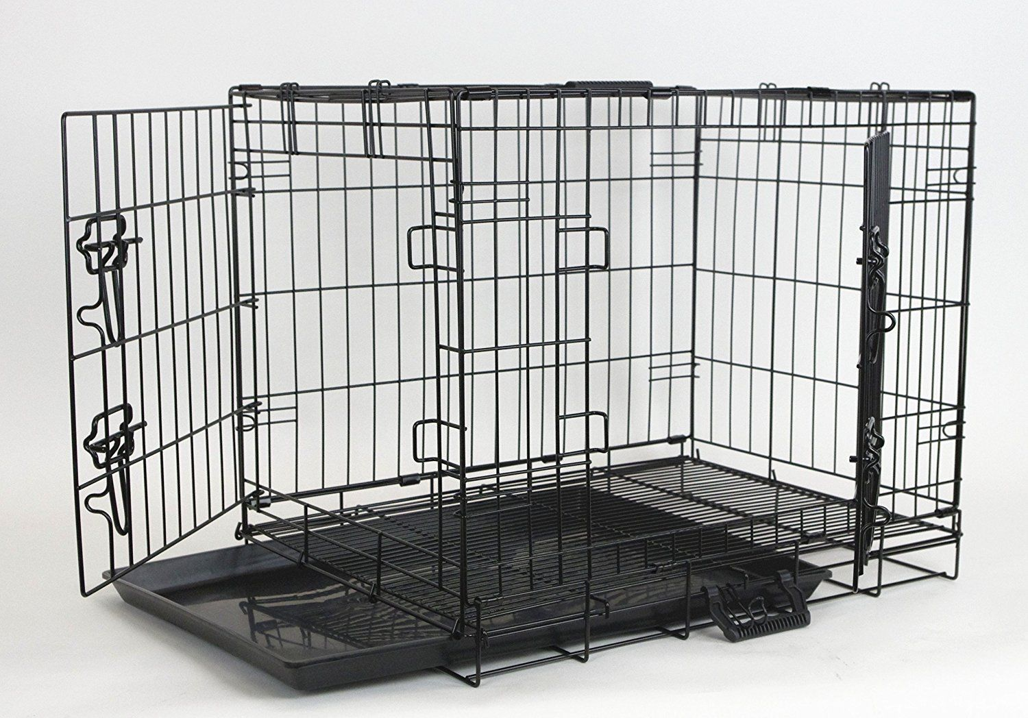 Homey Pet Economic 36 42 48 Wire Folding Cage With Pull Out Tray Startling Review Available Here Dog Crates Large Dog Crate Cat Crate Pets