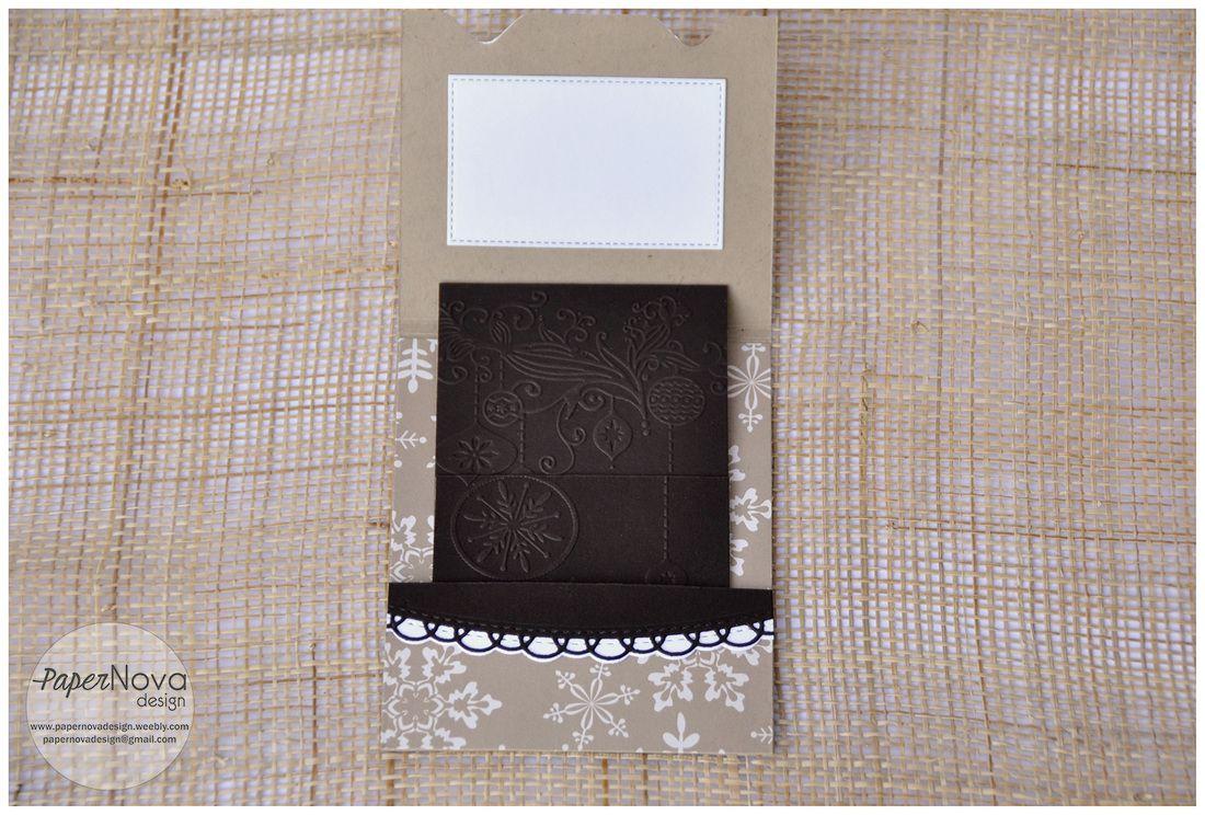 Gift Card Holder - Card porta regalo - PaperNova Design
