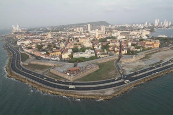Cartagena, Colombia - Walled City