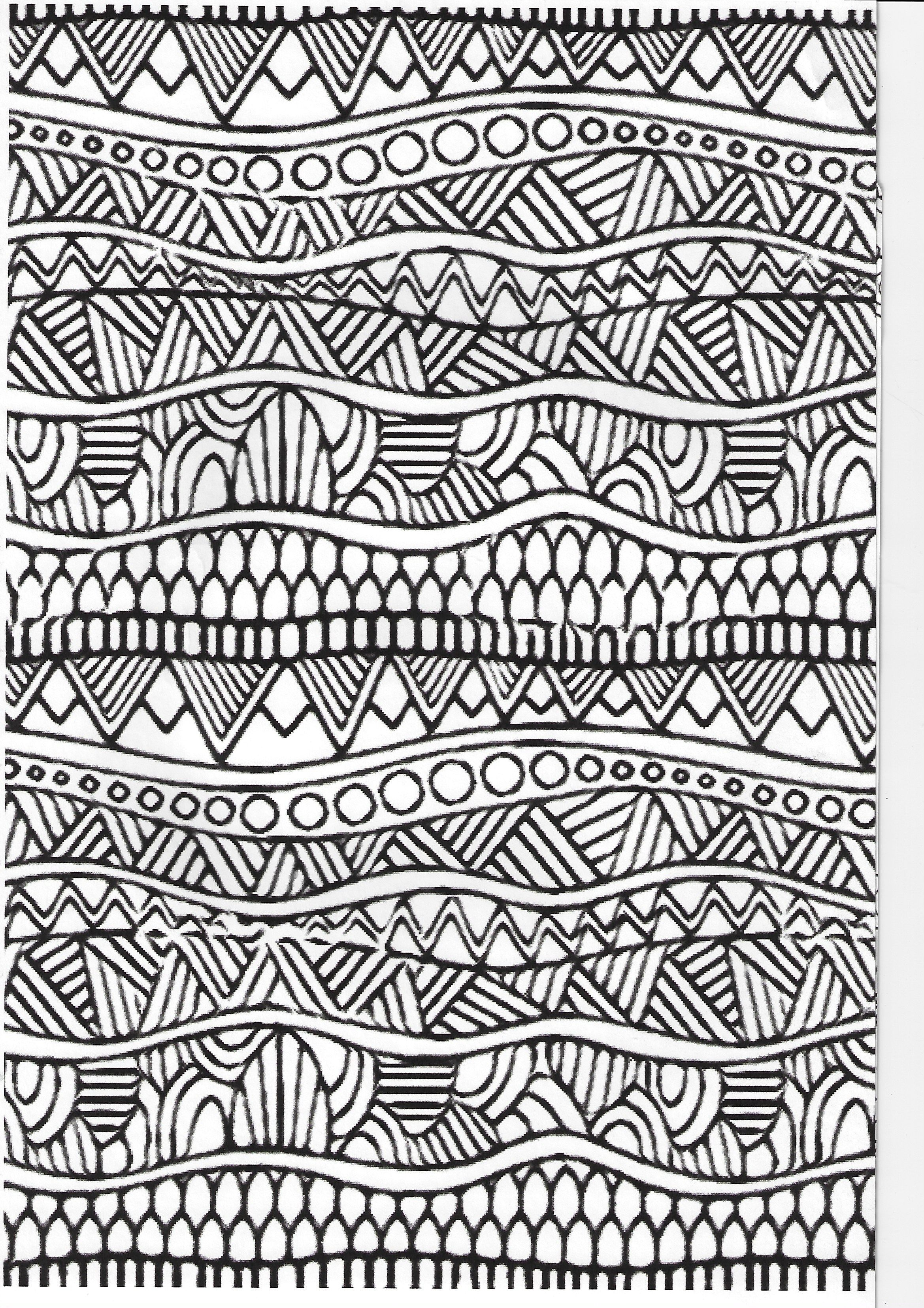 Pin By Lala Dewitt On Lines Patterns Coloring Pages Zentangle