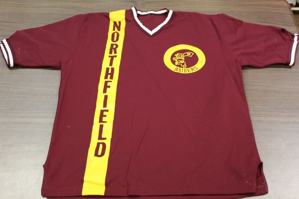 Vintage Northfield Raiders High School Baseball Jersey