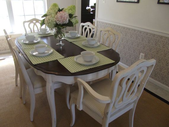vintage french provincial dining room table and by meandphoebe rh pinterest com