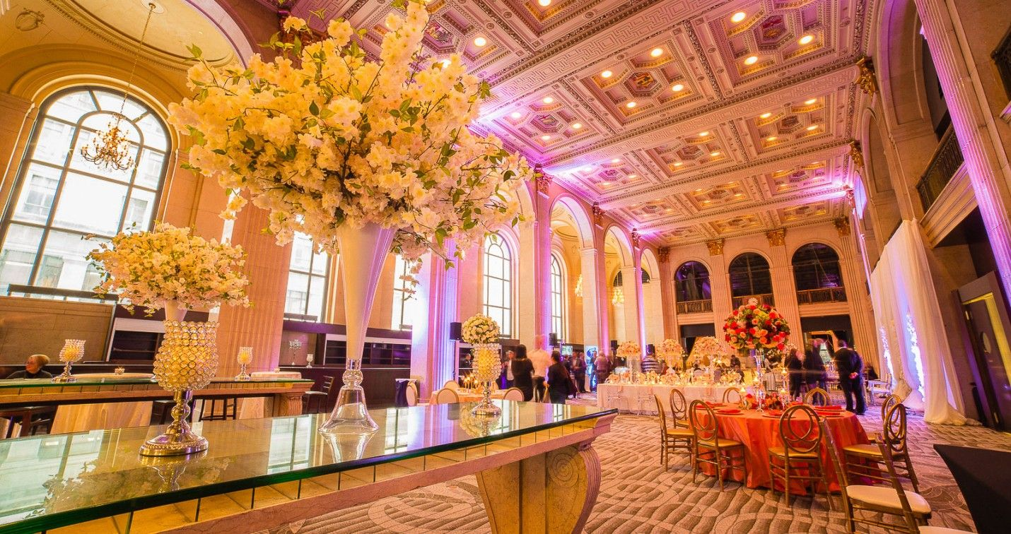 Grand Banking Hall One King West Hotel Residence Wedding