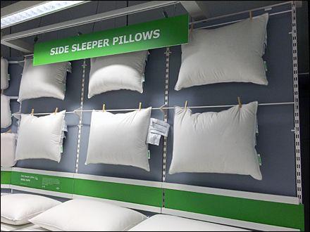 Ikea Clothes Pinned Pillow Merchandising Bedding Shop