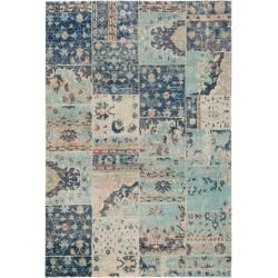 Photo of benuta Flachgewebeteppich Stella Multicolor/Blau 160×230 cm – Vintage Teppich im Used-Look benuta