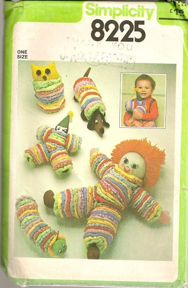 Simplicity Sewing Pattern 8225 Amigurumi Circle Stuffed Toy Clown ...