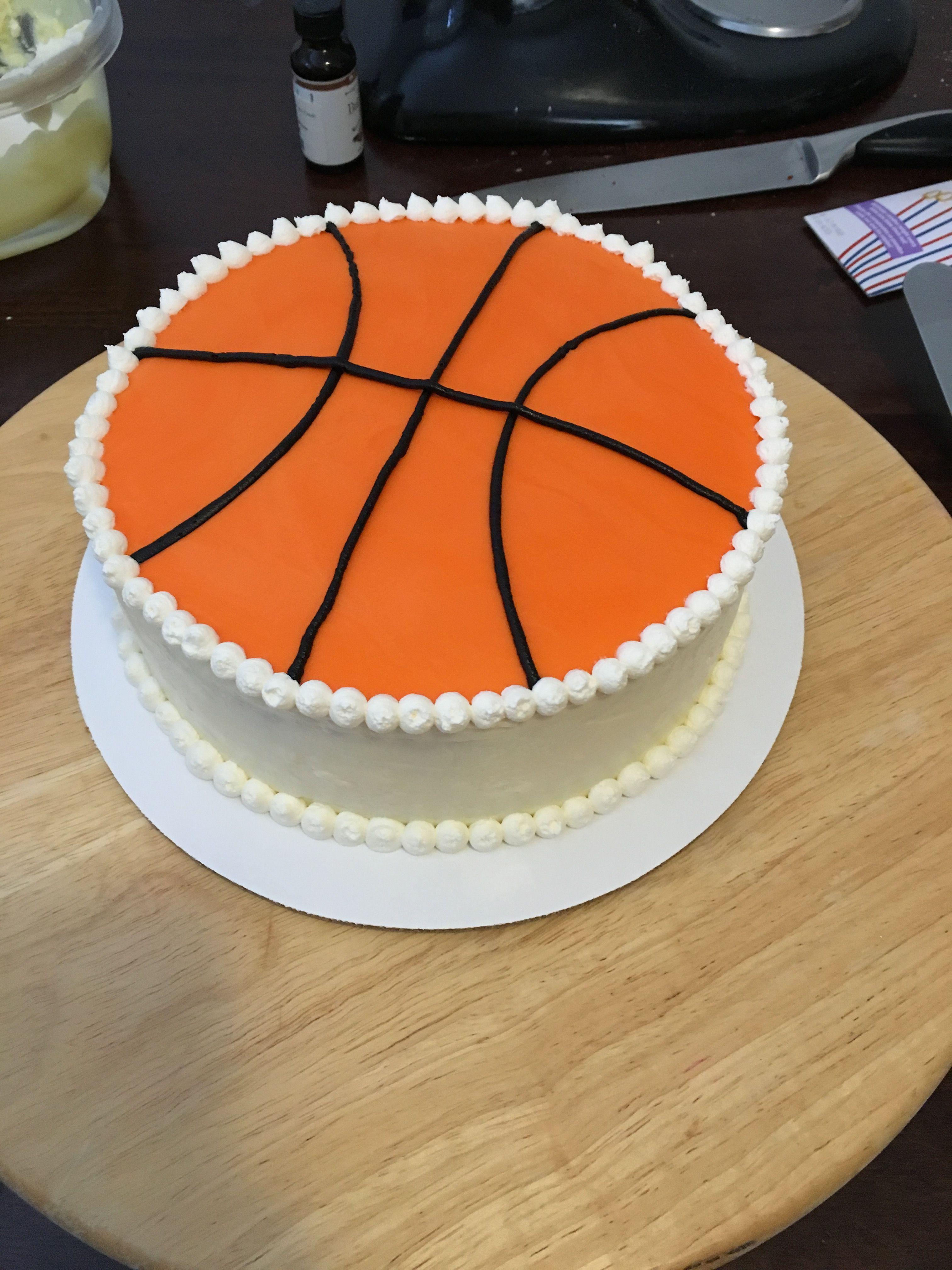 Basketball Cake Basketball Birthday Cake Cake Basketball Cake