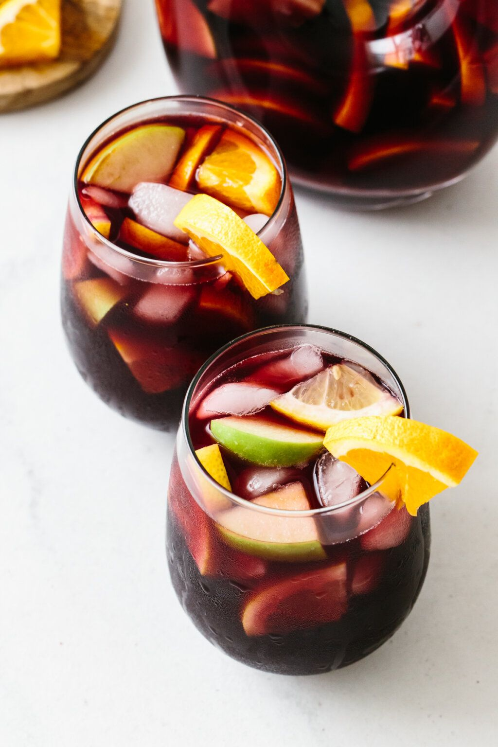 Authentic Red Sangria Recipe Downshiftology In 2020 Red Sangria Recipes Sangria Recipes Red Sangria