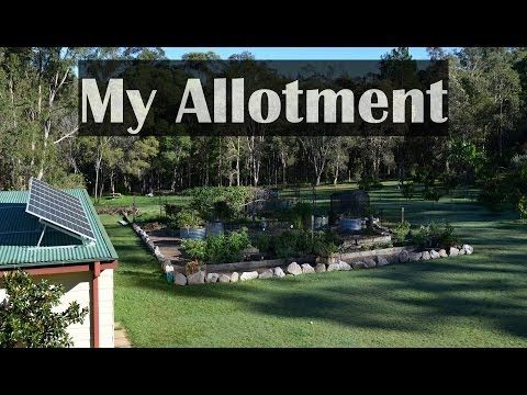 Mark's Allotment Garden Vegetables Raised Beds & Self Sufficient Backyar...