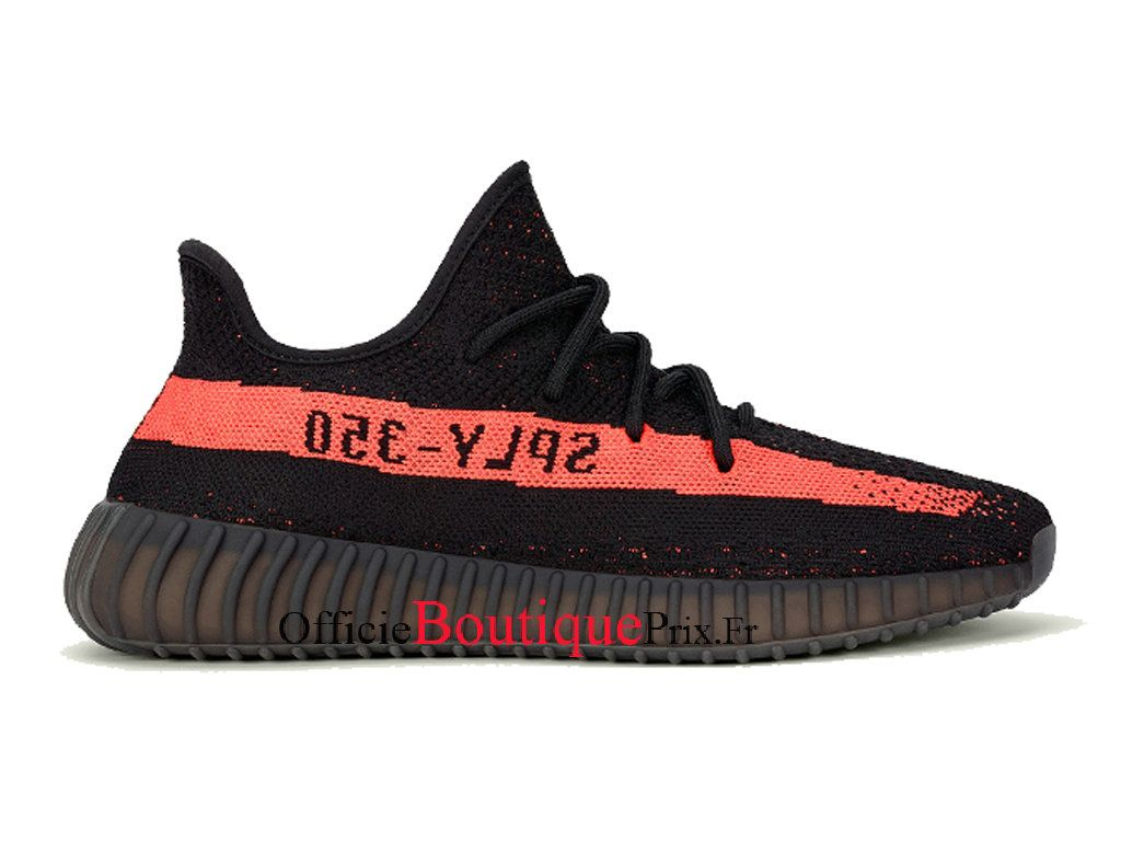 029119765d14 Adidas Yeezy Boost 350 V2 Core Black Red BY9612 Chaussure Adidas Sneakers  Pirx Pour Homme