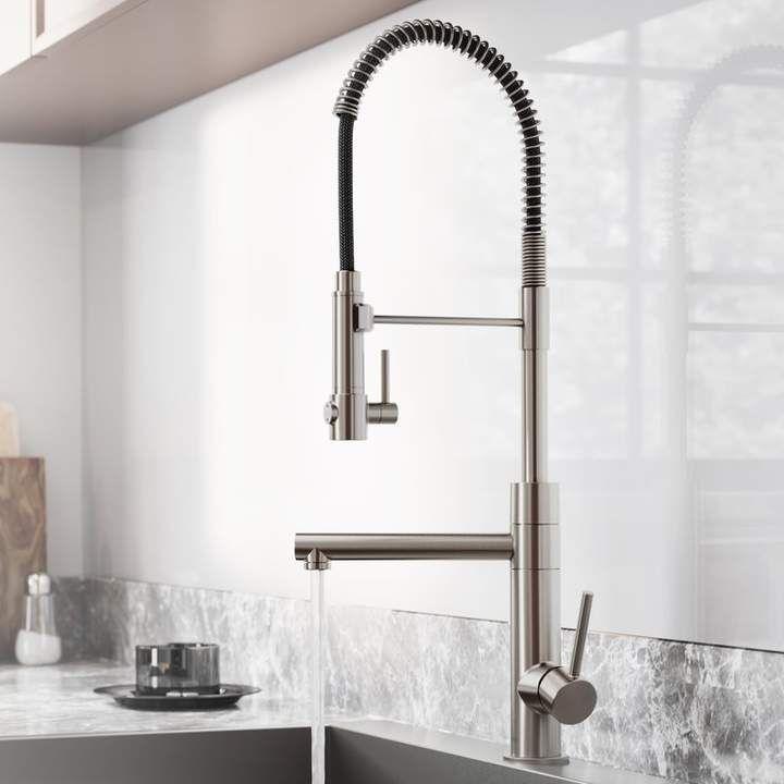 Artec Pro 2 Function Pull Down Single Handle Kitchen Faucet