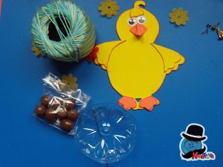 tutorial how to make a chick egg holder with rubber g …