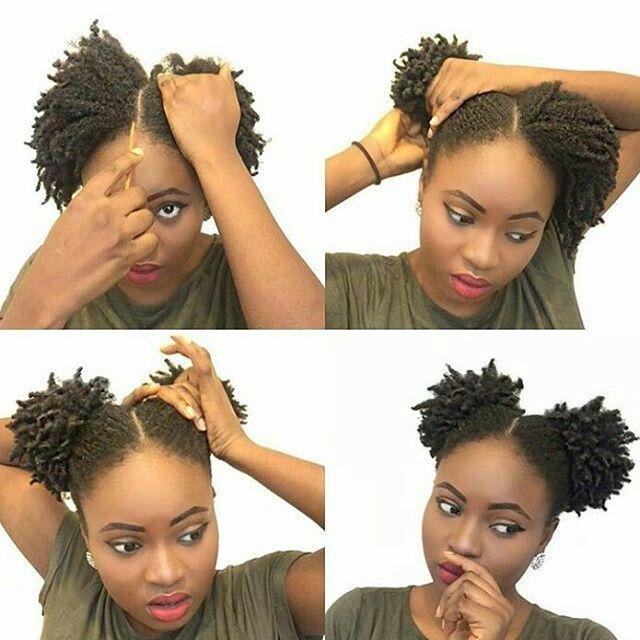 Easy Hair Styles Natural Natural Hair Styles Easy Short