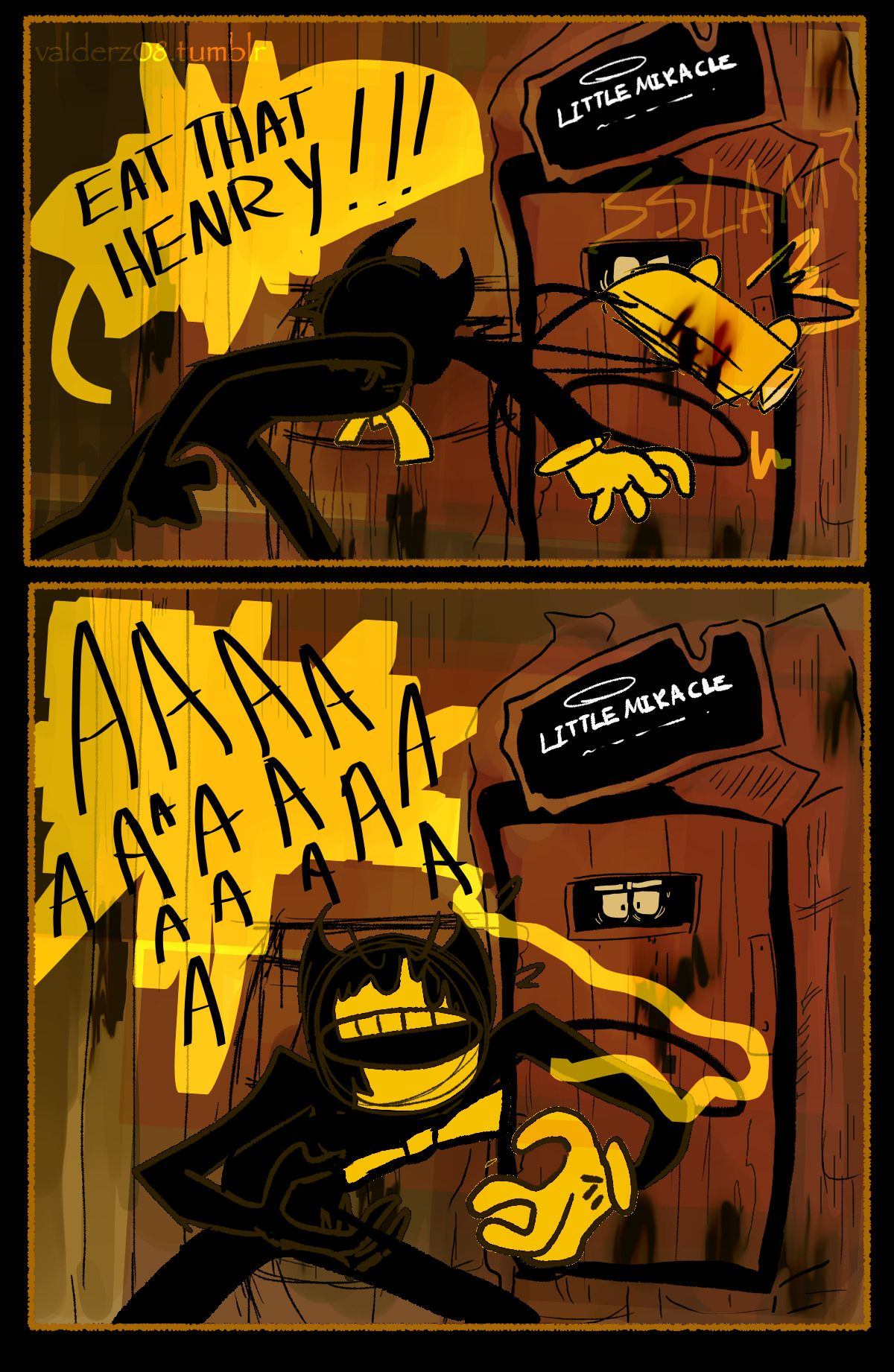 Pin By Loribon On Gamers Bruh Bendy And The Ink Machine Ink