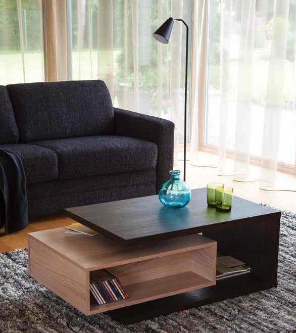 Mesa de centro de dise o moderno para destacar cualquier - Disenos de mesas de centro para sala ...