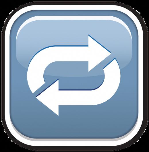 Clockwise Rightwards And Leftwards Open Circle Arrows Circle Arrow Emoji Stickers Emoji