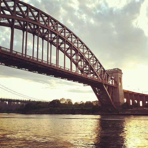 """@thequeenskickshaw's photo: """"Hellgate Bridge"""""""