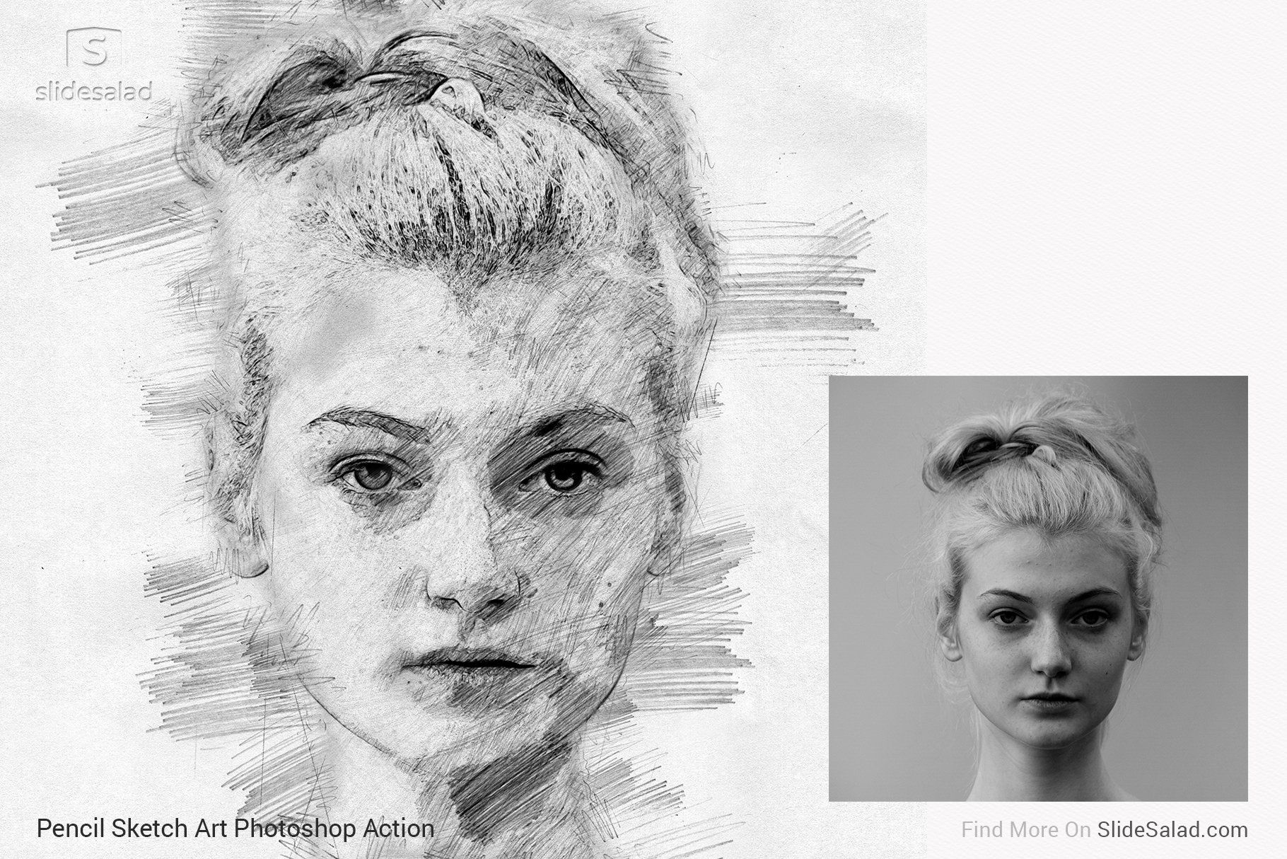Pencil Sketch Art Photoshop Action Art Sketches Pencil