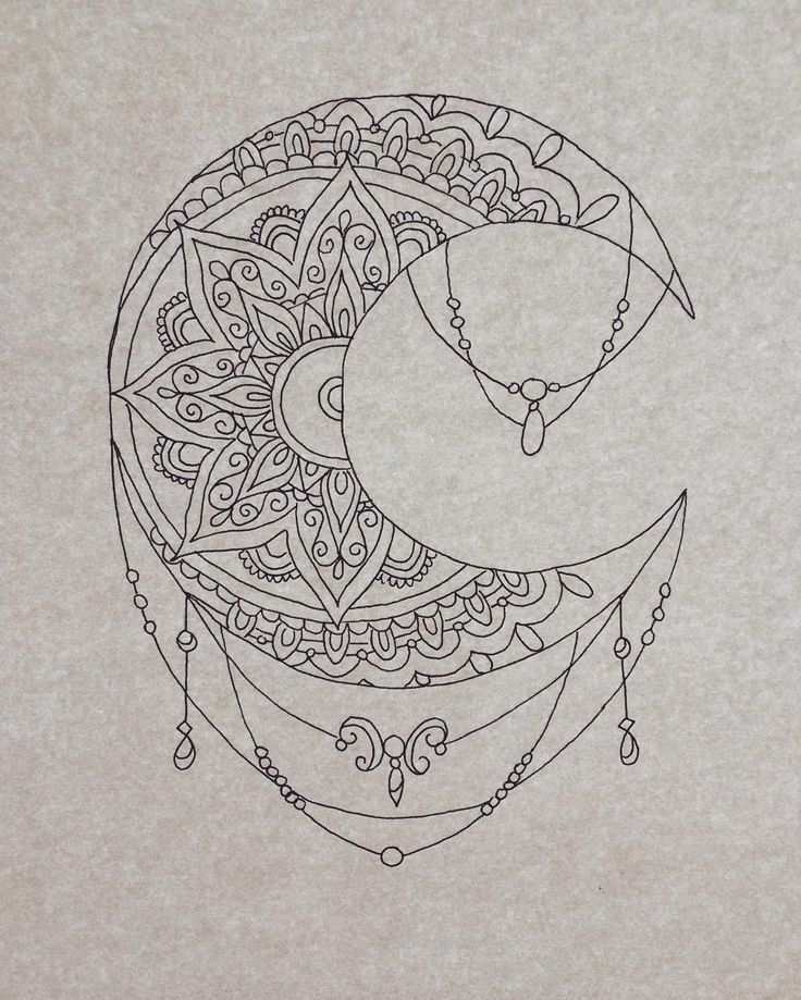 Resultado De Imagen De Mandala Luna Tattoo Ig Tatuajes Tatuaje
