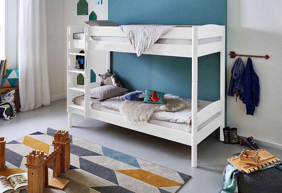 Paidi Etagenbett Buche Massiv : Relita einzel etagenbett michelle« mit runden bettpfosten buche