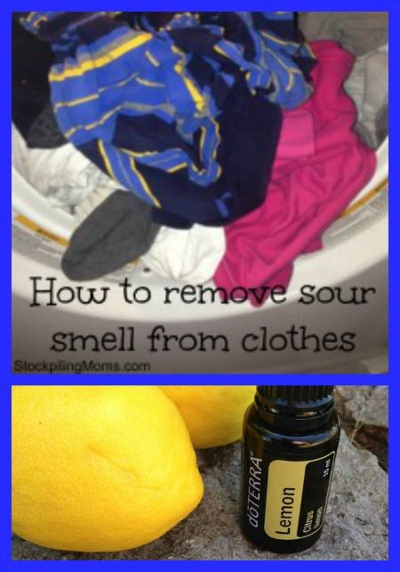 How To Remove Sour Smell From Wet Clothes House Cleaning Tips