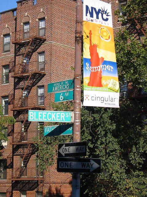 Bleecker Street, Manhattan