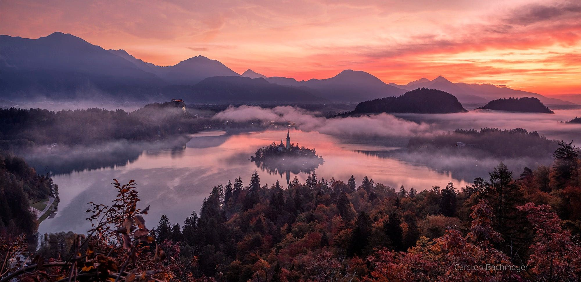 Misty Bled by carsten bachmeyer / 500px в 2020 г | Природа
