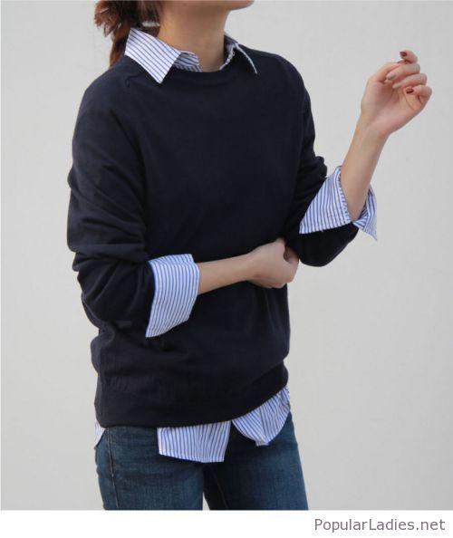 Mini-Karo-Rock und eine Bluse - #Bluse #eine #MiniKaroRock #und #springsummeroutfits