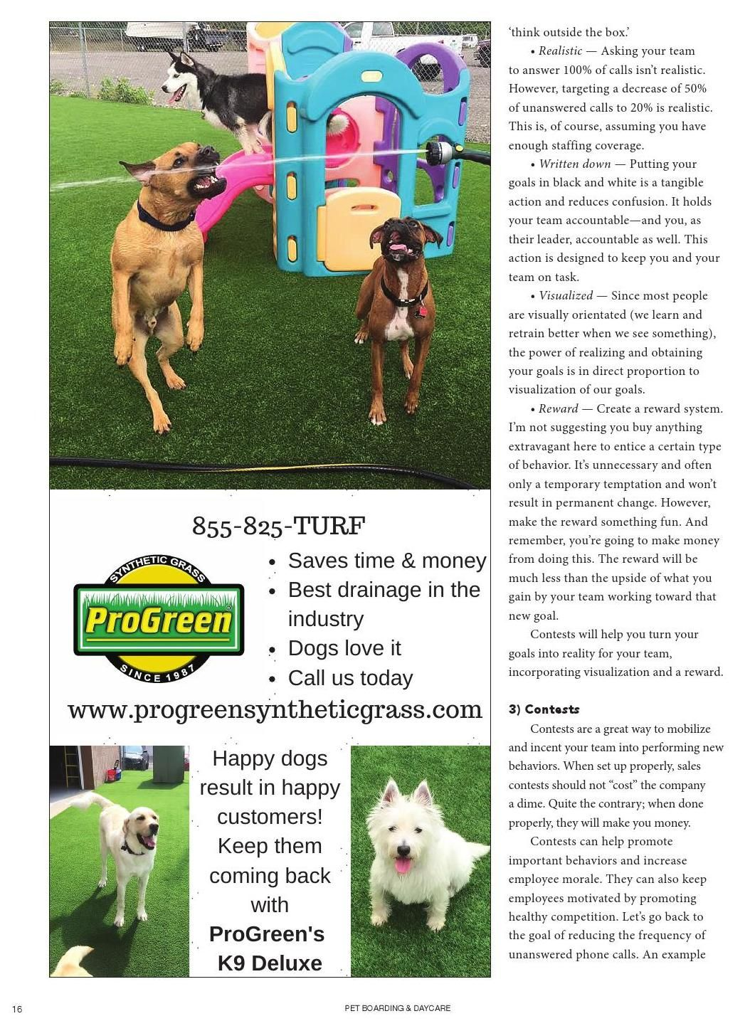 Pet boarding and daycare march april 2016 pet boarding